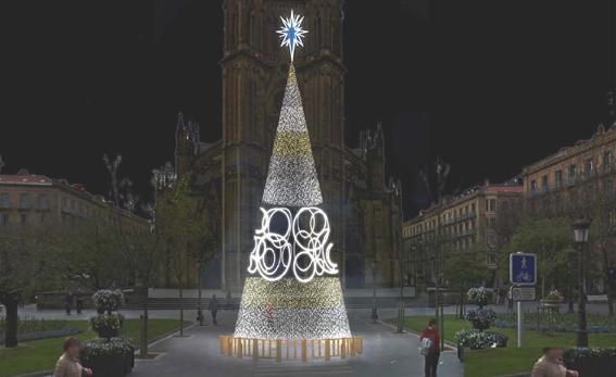 La navidad se ilumina hoy en donostia gipuzkoagaur for Muebles basoko