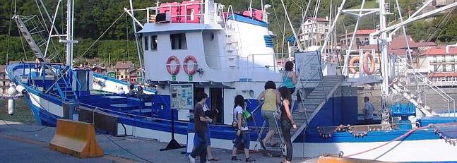 Sorprendido mientras robaba en el barco museo mater for Muebles basoko