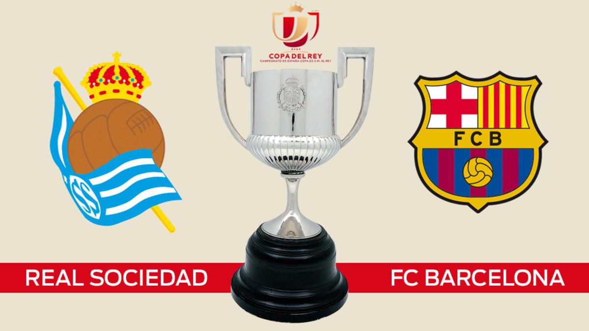Real Sociedad - FC Barcelona en cuartos de la Copa del Rey ...