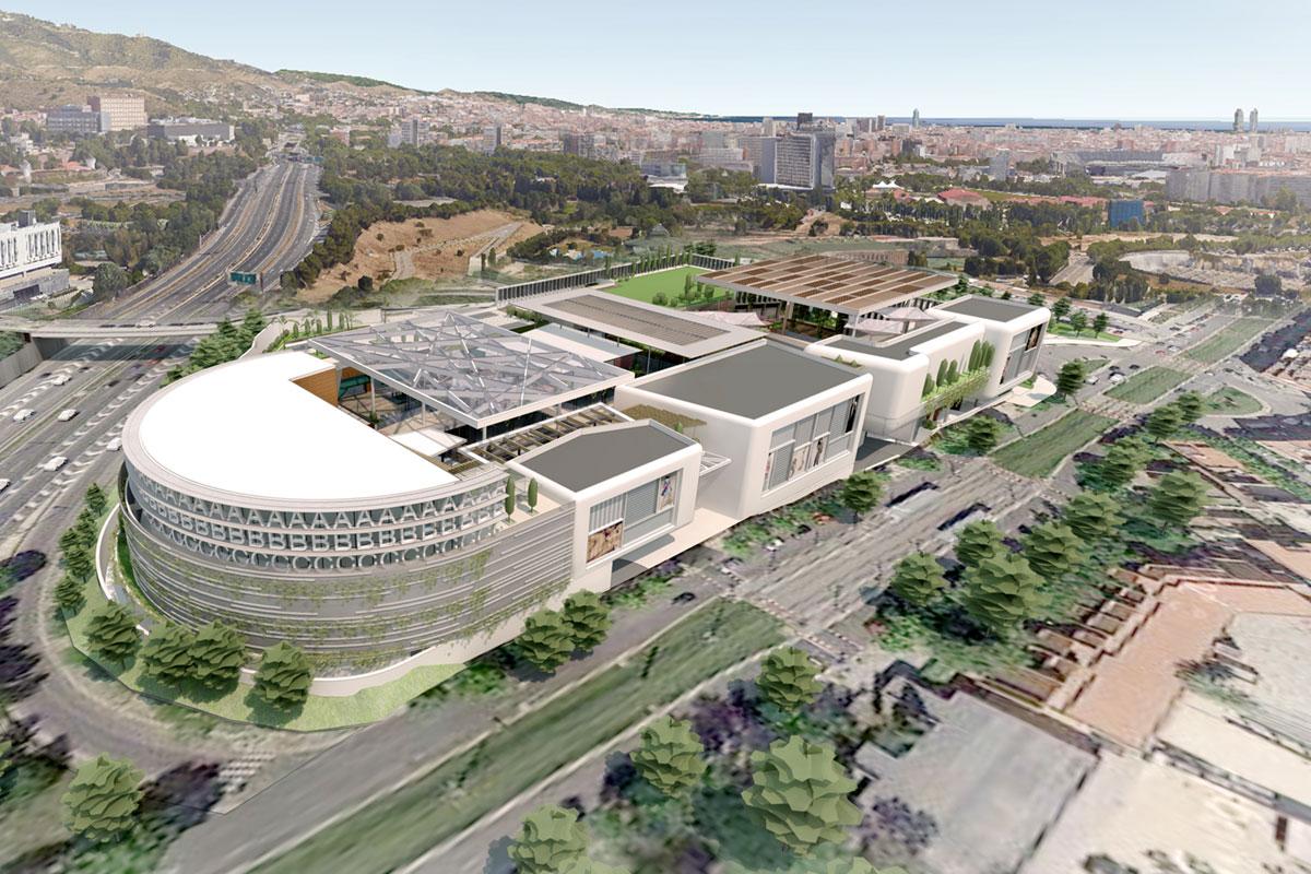 Inbisa byco inicia los trabajos de construcci n del centro Empresas de construccion en barcelona