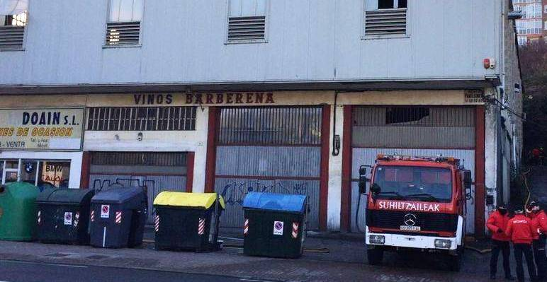 Se entrega a la ertzaintza el responsable del incendio de for Muebles basoko