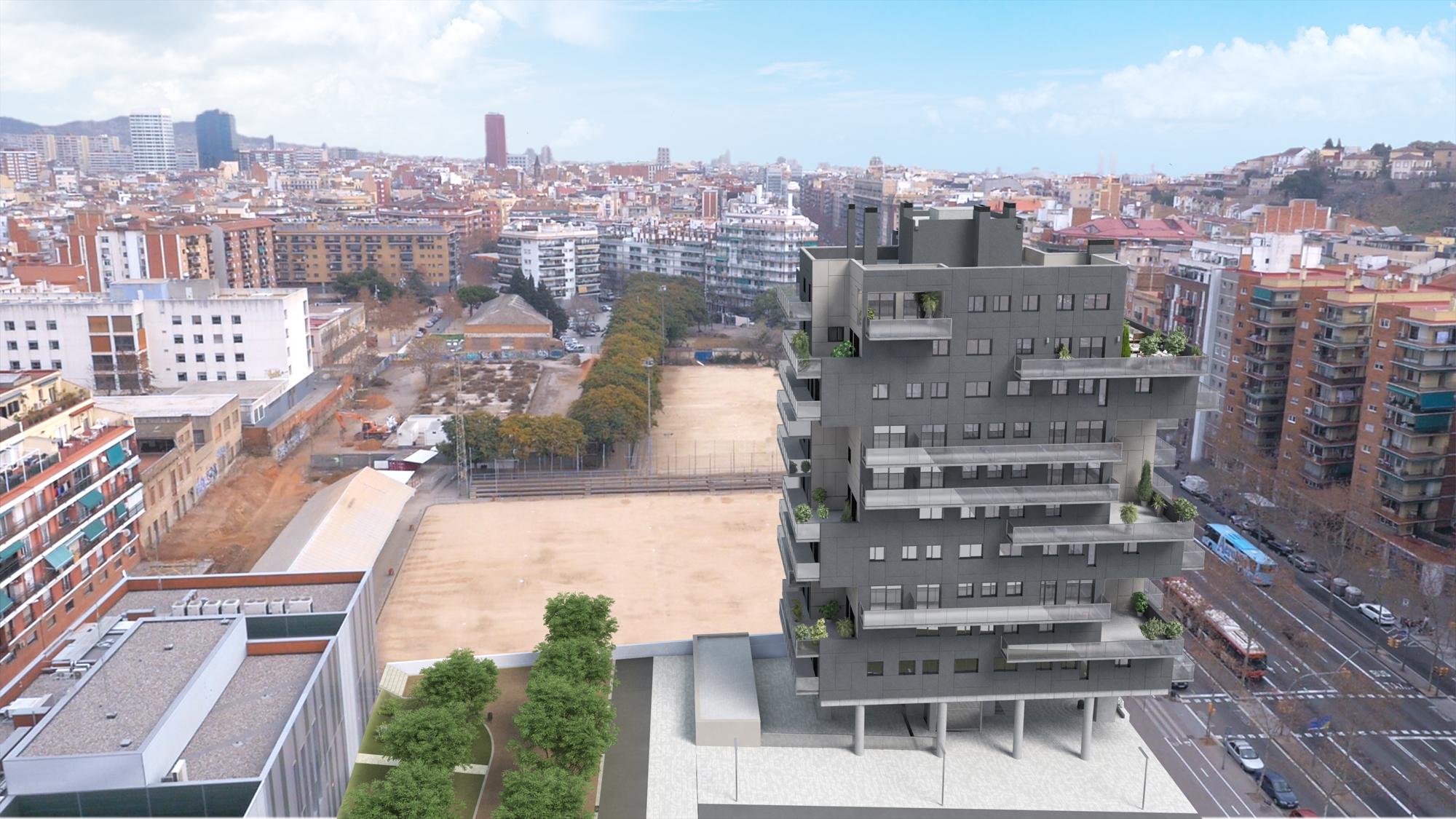 Inbisa byco inicia la construcci n del edificio for Empresas de construccion en barcelona