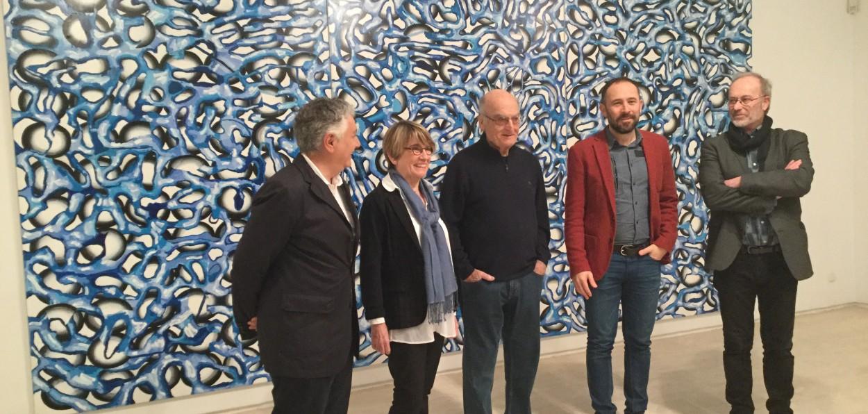 200 obras de luis gordillo en el koldo mitxelena hasta el for Piso koldo mitxelena