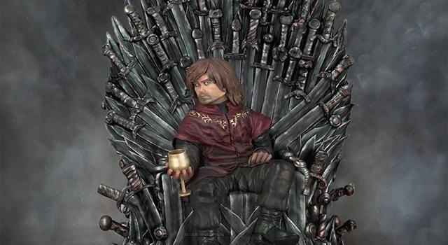 V deo tyrion lannister se sienta en el trono de hierro - Trono de hierro ...