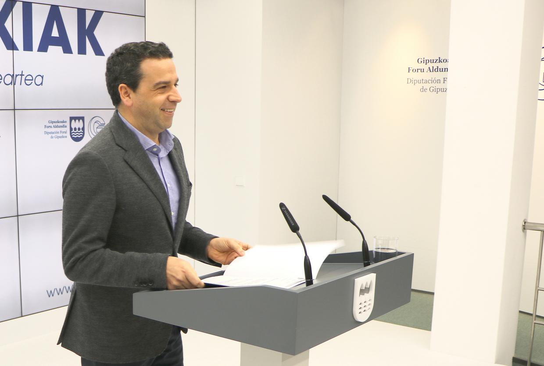 La diputaci n foral de gipuzkoa refuerza el convenio con for Muebles basoko