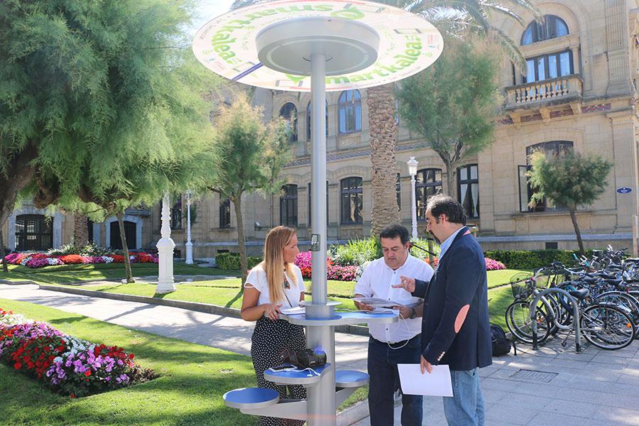 Donostia presenta su proyecto de smart city en estados for Muebles basoko